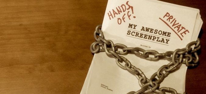 Hands off my screenplay